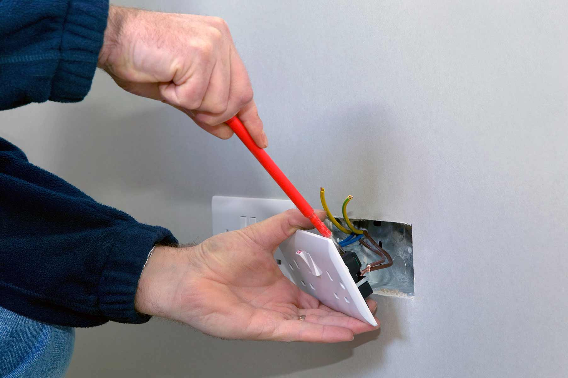 Our electricians can install plug sockets for domestic and commercial proeprties in Blackheath and the local area.